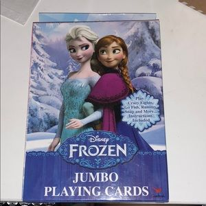 Disney frozen playing cards